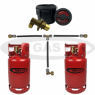 GAS IT 11kg TWIN Bottle Kit - Body Remote Fill